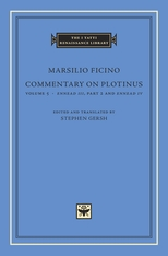 Cover: Commentary on Plotinus, Volume 5: <i>Ennead III</i>, Part 2, and <i>Ennead IV</i>