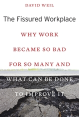 Cover: The Fissured Workplace in PAPERBACK