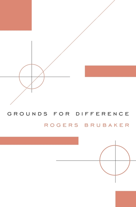 Cover: Grounds for Difference, from Harvard University Press