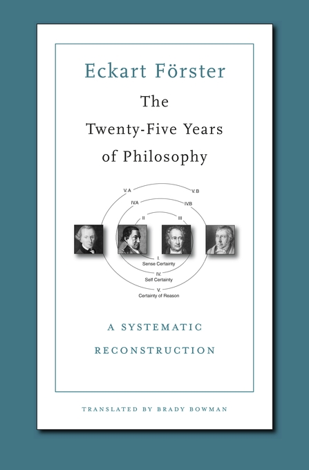Cover: The Twenty-Five Years of Philosophy: A Systematic Reconstruction, from Harvard University Press