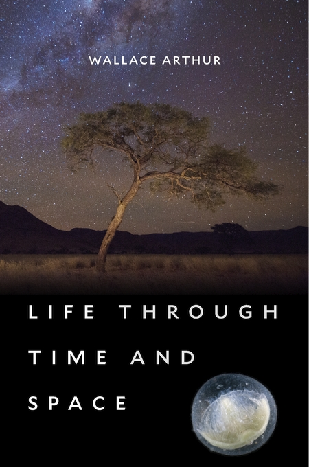 Cover: Life through Time and Space, from Harvard University Press
