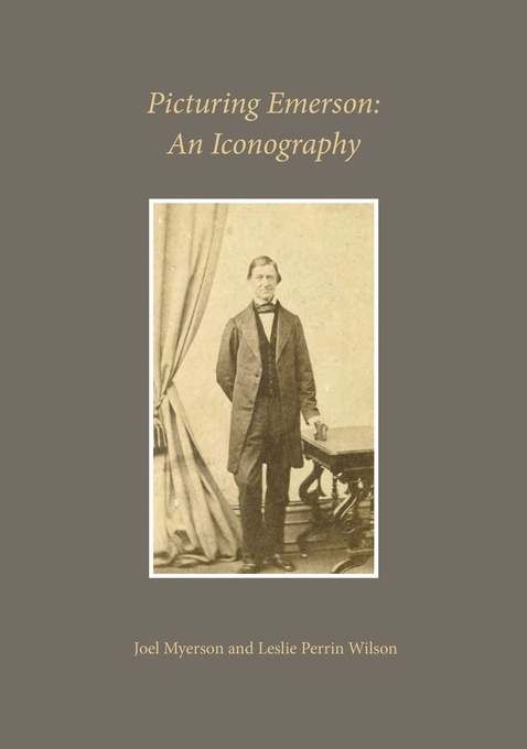 Cover: Picturing Emerson: An Iconography, from Harvard University Press