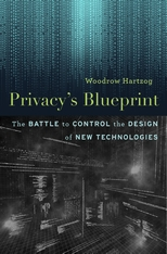 Cover: Privacy's Blueprint in HARDCOVER