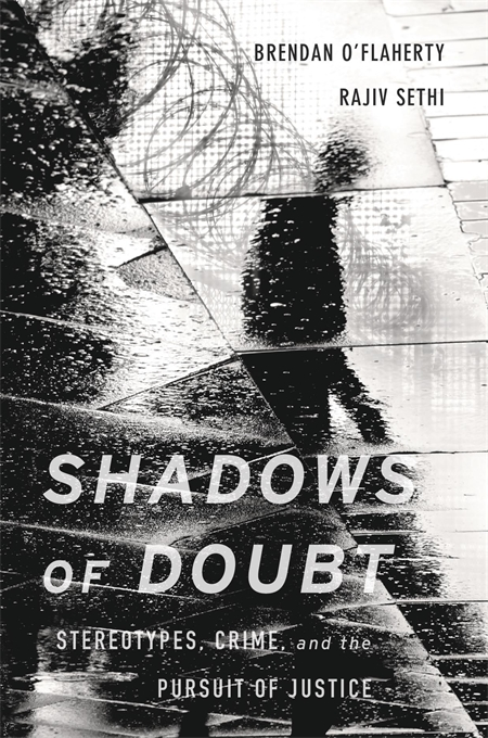 Cover: Shadows of Doubt: Stereotypes, Crime, and the Pursuit of Justice, from Harvard University Press