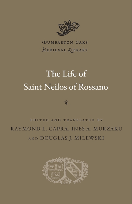 Cover: The Life of Saint Neilos of Rossano, from Harvard University Press