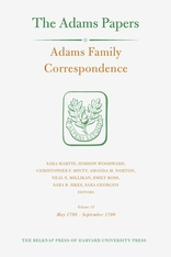 Cover: Adams Family Correspondence, Volume 13: May 1798 – September 1799
