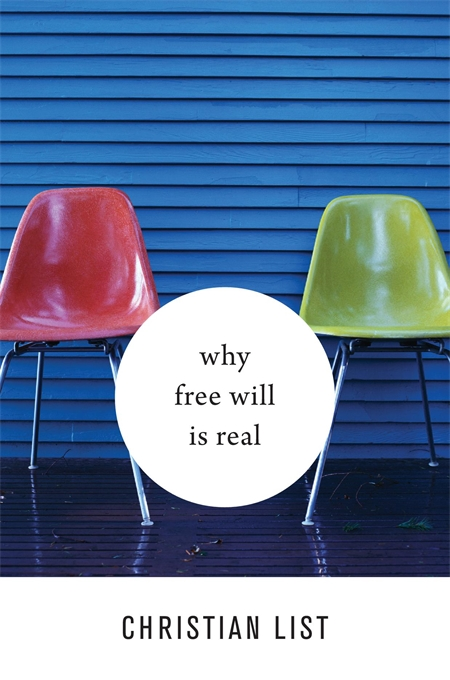 Cover: Why Free Will Is Real, from Harvard University Press