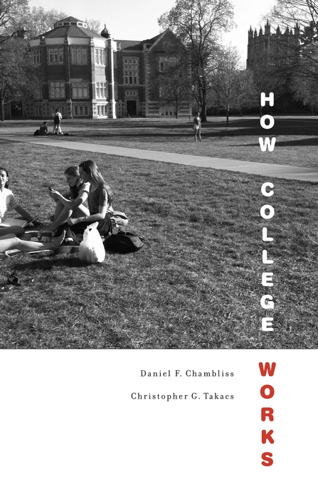 Cover: How College Works, from Harvard University Press