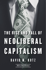 Cover: The Rise and Fall of Neoliberal Capitalism in PAPERBACK