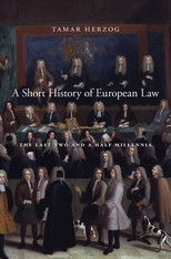 Cover: A Short History of European Law in HARDCOVER