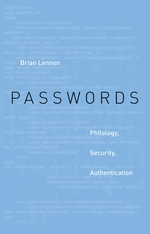 Cover: Passwords: Philology, Security, Authentication