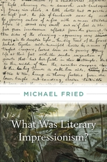 Cover: What Was Literary Impressionism? in HARDCOVER
