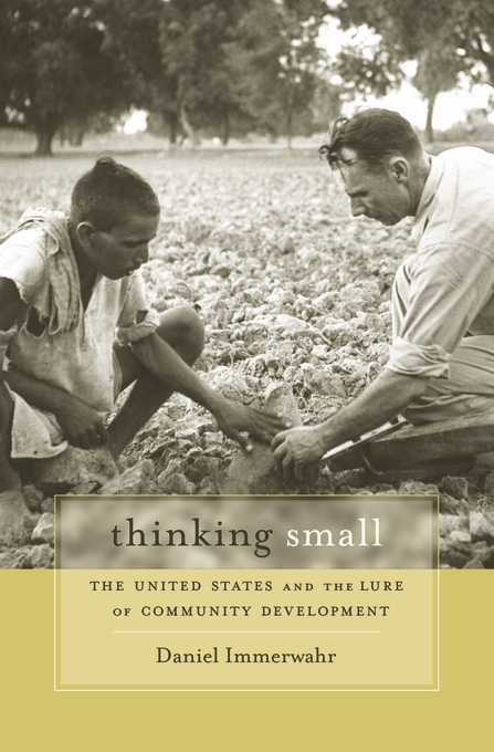 Cover: Thinking Small: The United States and the Lure of Community Development, from Harvard University Press