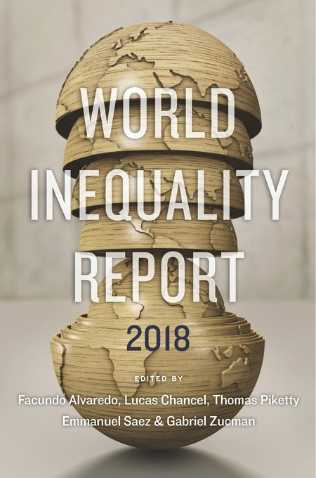 Cover: World Inequality Report 2018, from Harvard University Press