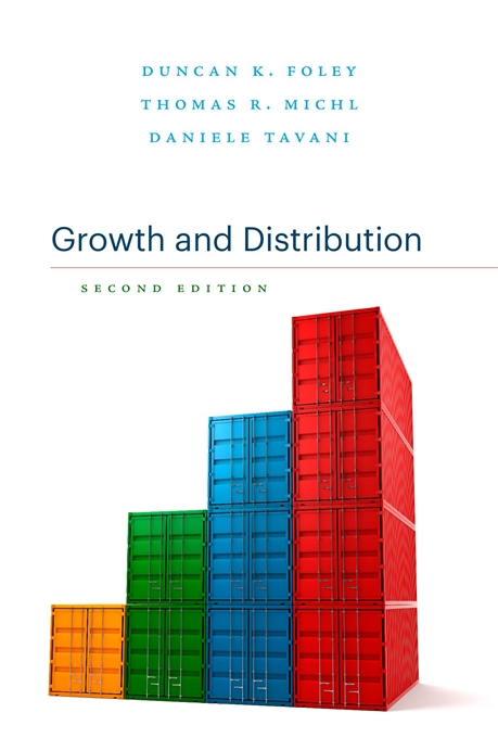 Cover: Growth and Distribution: Second Edition, from Harvard University Press