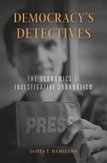 Cover: Democracy's Detectives in PAPERBACK