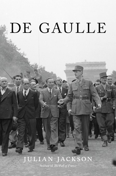 Cover: De Gaulle, from Harvard University Press