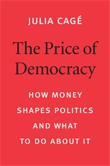 Cover: The Price of Democracy in HARDCOVER