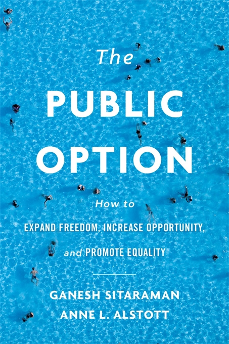 Cover: The Public Option: How to Expand Freedom, Increase Opportunity, and Promote Equality, from Harvard University Press