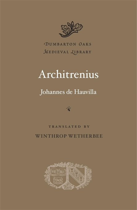Cover: Architrenius, from Harvard University Press