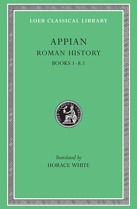 Cover: Roman History, Volume I: Books 1-8.1, from Harvard University Press
