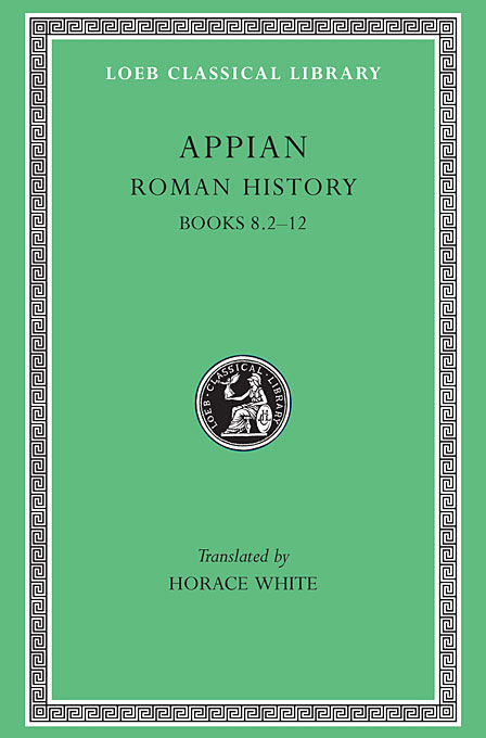 Cover: Roman History, Volume II: Books 8.2-12, from Harvard University Press
