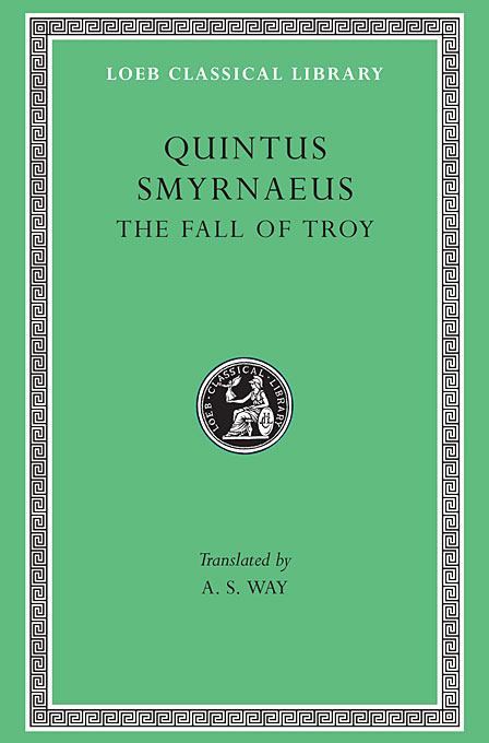 Cover: The Fall of Troy, from Harvard University Press