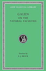 Cover: On the Natural Faculties in HARDCOVER