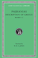 Cover: Description of Greece, Volume I: Books 1-2 (Attica and Corinth)