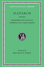 Cover: Lives, Volume IX: Demetrius and Antony. Pyrrhus and Gaius Marius