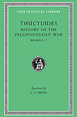 Cover: History of the Peloponnesian War, Volume I: Books 1-2