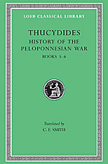 Cover: History of the Peloponnesian War, Volume III: Books 5-6