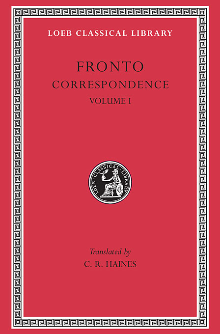 Cover: Correspondence, Volume I, from Harvard University Press