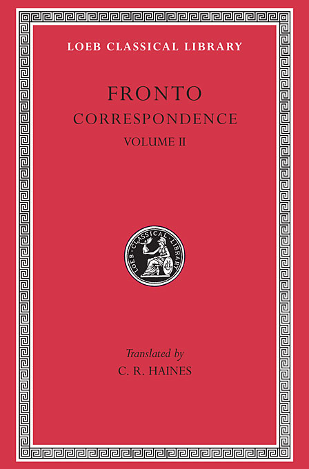 Cover: Correspondence, Volume II, from Harvard University Press