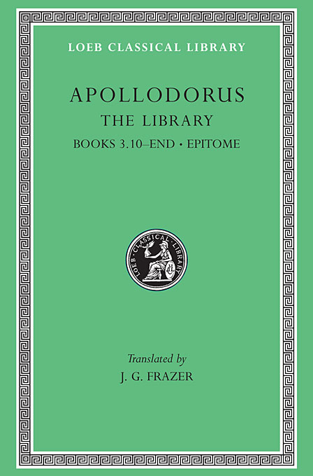 Cover: The Library, Volume II: Book 3.10-end. Epitome, from Harvard University Press