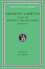 Cover: Lives of Eminent Philosophers, Volume II: Books 6-10