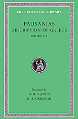Cover: Description of Greece, Volume II: Books 3-5  (Laconia, Messenia, Elis 1)