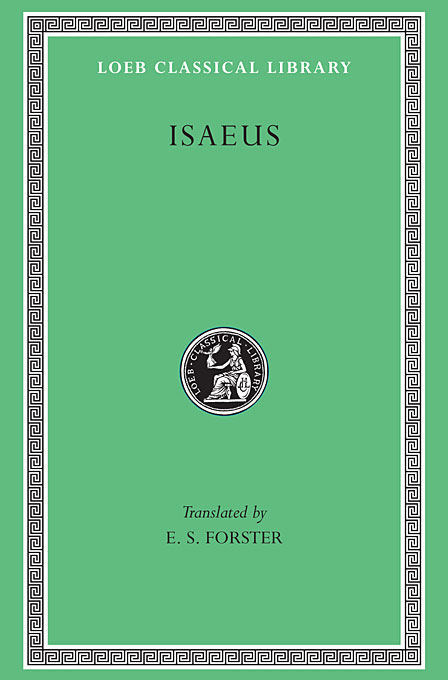 Cover: Isaeus, from Harvard University Press