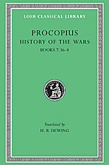 Cover: History of the Wars, Volume V: Books 7.36-8. (Gothic War)