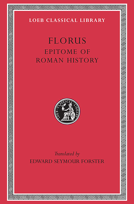Cover: Epitome of Roman History, from Harvard University Press