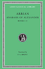Cover: Anabasis of Alexander, Volume I in HARDCOVER