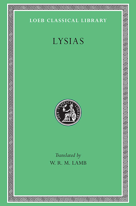 Cover: Lysias, from Harvard University Press
