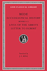 Cover: Ecclesiastical History, Volume II: Books 4-5. Lives of the Abbots. Letter to Egbert
