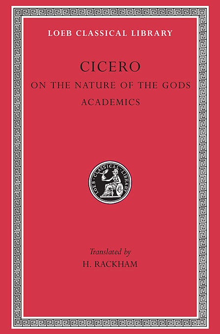 Cover: On the Nature of the Gods. Academics, from Harvard University Press