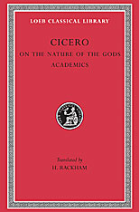 Cover: On the Nature of the Gods. Academics