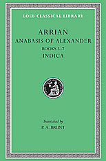 Cover: Anabasis of Alexander, Volume II: Books 5-7. Indica