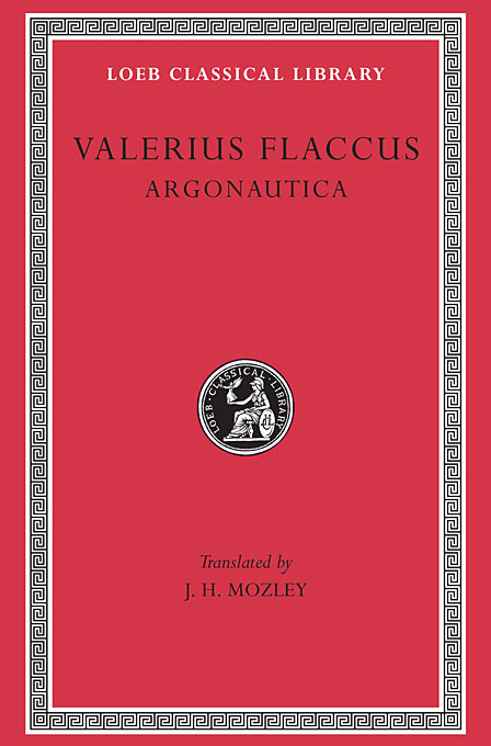 Cover: Argonautica, from Harvard University Press