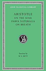 Cover: On the Soul. Parva Naturalia. On Breath in HARDCOVER