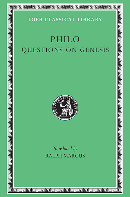 Cover: Questions on Genesis, from Harvard University Press