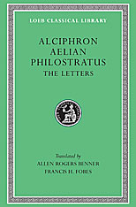 Cover: Alciphron, Aelian, and Philostratus in HARDCOVER